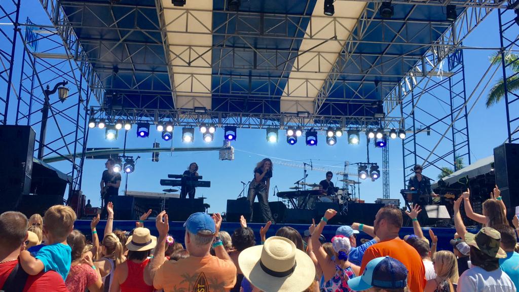 Sunfest 2017 at West Palm Beach featuring Rachel Platten and