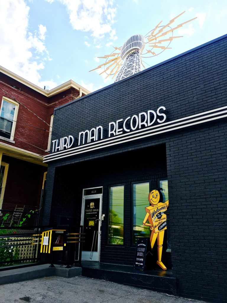 Inside Jack White's Record Shop Third Man Records